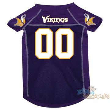 2c3e12f4d9a Minnesota Vikings NFL Football Dog Jersey - CLEARANCE