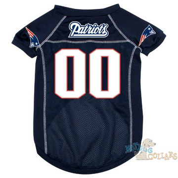 New England Patriots NFL Football Dog Jersey - CLEARANCE