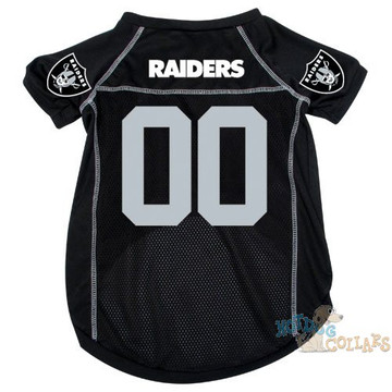 Nice Oakland Raiders NFL Football Dog Jersey CLEARANCE  for sale