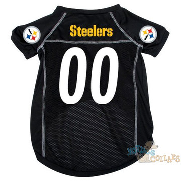 e5ef0c91e Pittsburgh Steelers NFL Football Dog Jersey - CLEARANCE