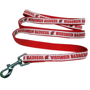 Wisconsin Badgers Dog Leash
