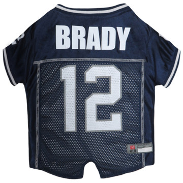 Tom Brady New England Patriots NFL Football Pet Jersey