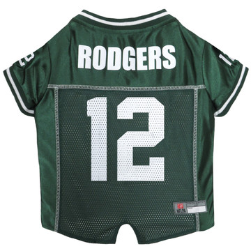 Aaron Rodgers Green Bay Packers NFL Football Pet Jersey