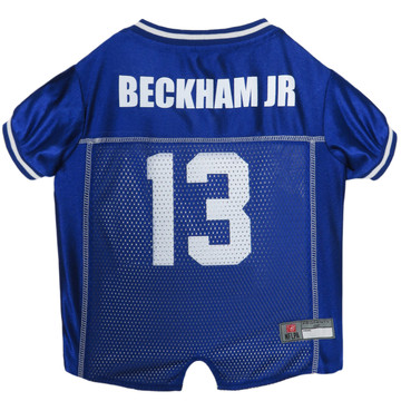 size 40 da8d1 fd048 Odell Beckham Jr New York Giants NFL Football Pet Jersey