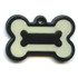 Hot Dog Pet ID Tag - Bone Shaped