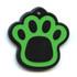 Hot Dog Pet ID Tag - Pawprint Shaped