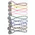 Plaid Rope Braid Dog Ball Launcher