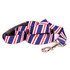 Team Spirit Red, White and Navy Blue EZ-Grip Dog Leash