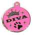 Diva Dog Engraved Dog ID Tag - Lifetime Guarantee