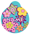 Flower Power HD Pet ID Tag