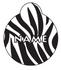 Zebra HD Pet ID Tag