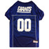 New York Giants PREMIUM NFL Football Pet Jersey