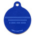 Blue Blocks HD Pet ID Tag