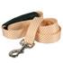 Southern Dawg Seersucker Orange Premium Dog Leash