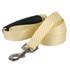 Southern Dawg Seersucker Yellow Premium Dog Leash