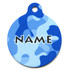 Camo Blue HD Pet ID Tag