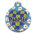 Crazy Hearts Hi-Def Dog ID Tag