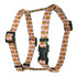 Pineapples Pink Roman Style H Dog Harness