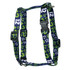 12th Dog Navy Blue Roman Style H Dog Harness