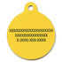 Hot Dogs HD Dog ID Tag