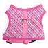 London Plaid Pink Soft Dog Harness