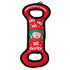 Santa Paws Christmas Tug and Toss Dog Toy