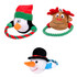 Holiday Rope Ring  Elastic Dog Toy 3 Pack
