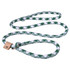 Braided Rope Argyle Slip Leash For Dogs