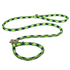 Blue and Green Rope Slip Leash For Dogs