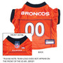 Denver Broncos NFL Football ULTRA Pet Jersey