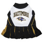 Baltimore Ravens NFL Football Pet Cheerleader Outfit