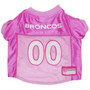 Denver Broncos PINK NFL Football Pet Jersey