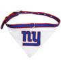 NY Giants Bandana Dog Collar