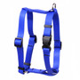 """Solid Royal Blue Roman Style """"H"""" Dog Harness"""