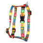 "Holiday Blocks Roman Style ""H"" Dog Harness"