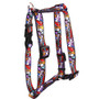 """Doggie Delights Roman Style """"H"""" Dog Harness"""
