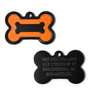 Hot Dog Dog ID Tag - Bone Shaped