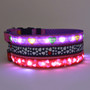 Valentines Day Themed Light Up Dog Collar