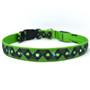 Irish Themed Safety Light Up Dog Collar