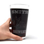 Personalized Pint Glass Beer Mug - Bloodhound
