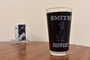 Personalized Pint Glass Beer Mug - Rottweiler
