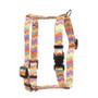 "Chevy Stripe Multi Roman Style ""H"" Dog Harness"