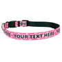 2-Color Skulls - Personalized Dog Collar