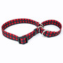 Buffalo Plaid - Personalized Martingale Pet Collar