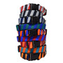 Team Spirit-Dark Stripes - Personalized Martingale Pet Collar