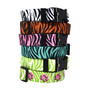 Zebra Print - Personalized Martingale Pet Collar