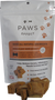 Paws Effect Sweet Potato & Carrot CBD Dog Biscuit front