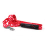 Red Hearts EZ-Grip Dog Leash