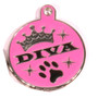 Diva Dog Engraved Dog ID Tag - Lifetime Guarantee