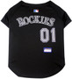 Colorado Rockies Pet JERSEY